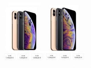 iPhone XS und iPhone XS Max: Preise 2018 (Bild: ZDNet.de)