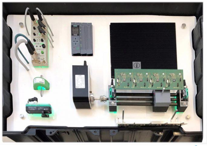 Die IIoT-Lösung Cumulocity IoT Edge powered by Dell Technologies von oben betrachtet (Bild: Software AG, April 2019)