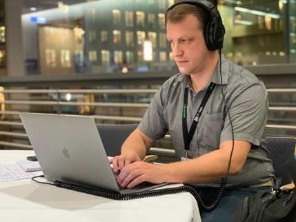 Aleksandr Volochnev, Developer Advocate bei DataStax (Quelle: DataStax)
