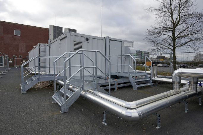 Der Cloudpark Höchst bietet Unternehmen aus der Frankfurter Region einen Datacenter-Standort mit kurzen Latenzzeiten, weil eine direkte Anbindung an den Internet-Knotenpunkt DE-CIX möglich ist. (Bild: Rittal)