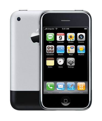 Das erste iPhone