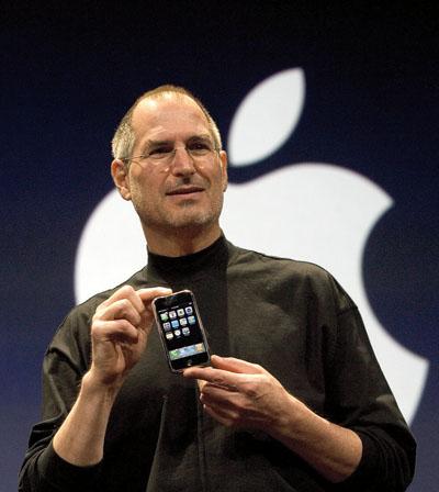Steve Jobs stellt das iPhone vor